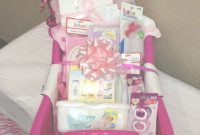 Fancy Baby Shower Gift Basket Idea !!!! | Baby Girl Gift Idea | Pinterest within Pinterest Baby Shower Gifts