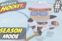 Fancy Backyard Hockey 2005 | Season Mode | Ep4 | The Nerd Getting It Done with Backyard Hockey