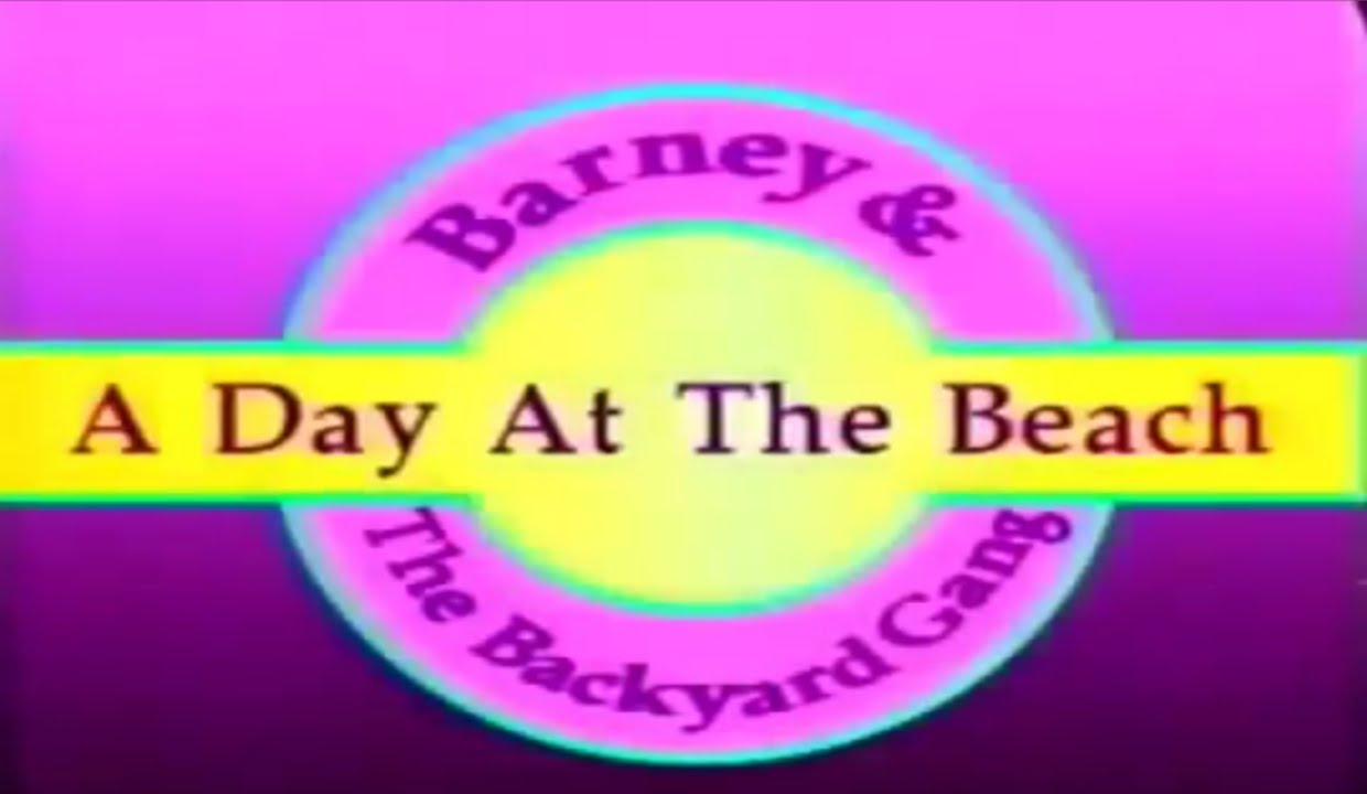 Fancy Barney And The Backyard Gang: A Day At The Beach (1989) - Youtube in Awesome Barney And The Backyard Gang