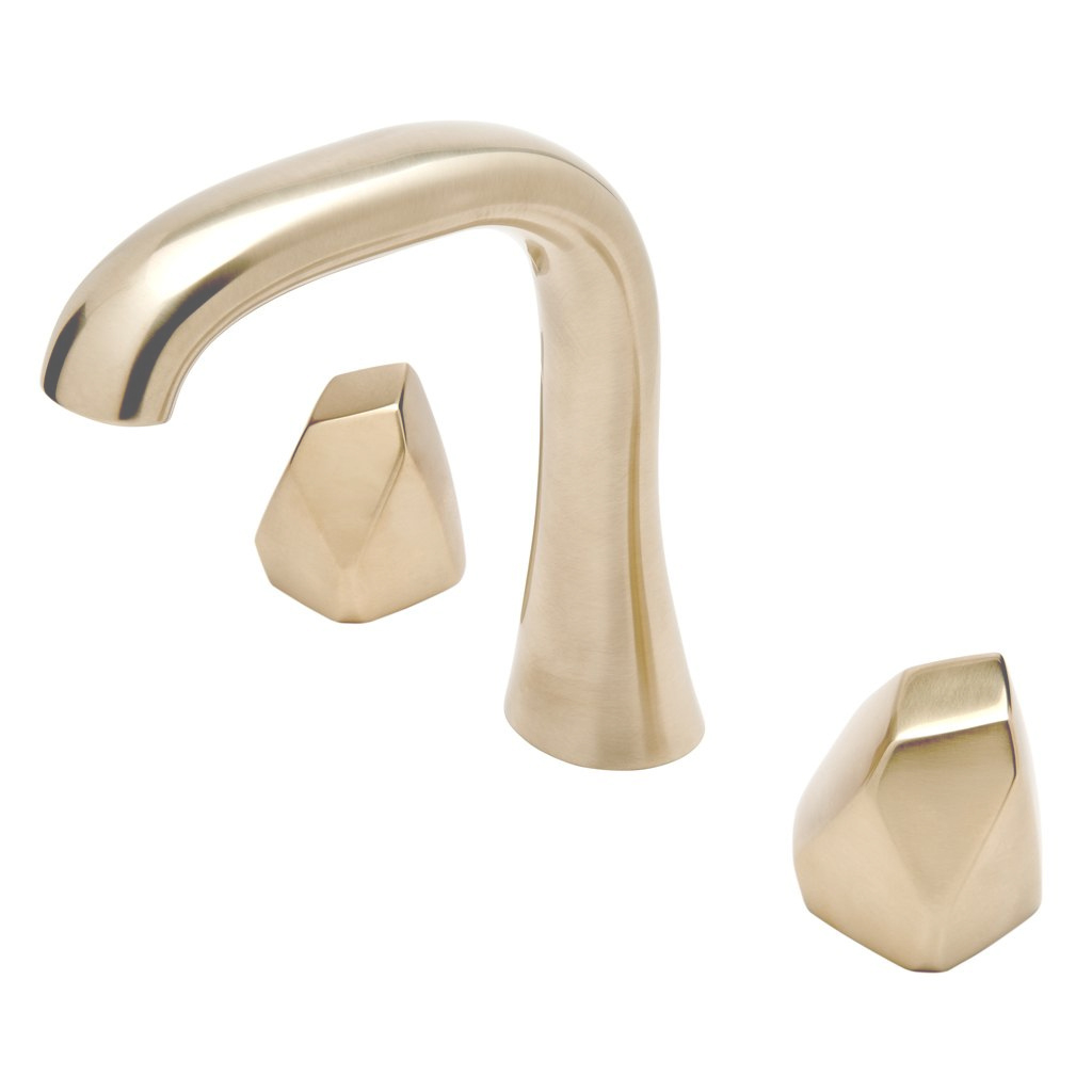 Fancy Bathroom Fixtures Moen Rustic Polished Chrome Double Handle Metering in Brushed Brass Bathroom Faucet