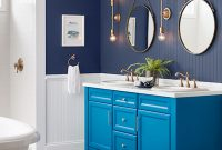 Fancy Bathroom Paint Color Ideas | Inspiration Gallery | Sherwin-Williams with Blue Bathroom Photos