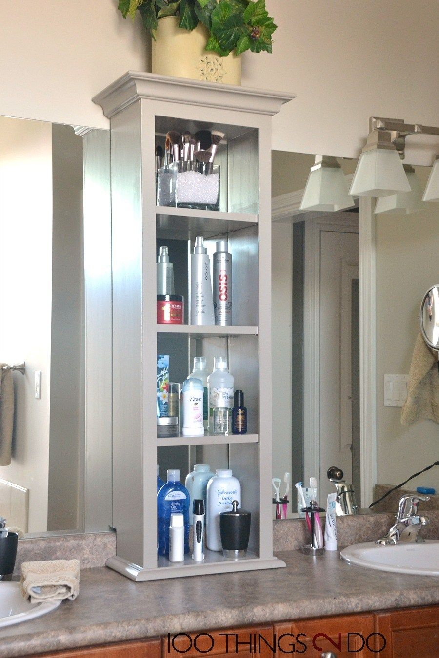 Fancy Bathroom Storage Tower | Pinterest | Bathroom Storage, Bathroom with Bathroom Vanity Storage