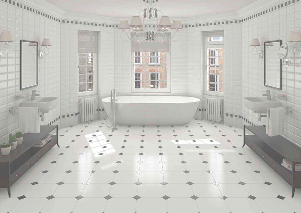 Fancy Bathroom Tile In Oregon Homes - Options For All inside Bathroom Tile Flooring