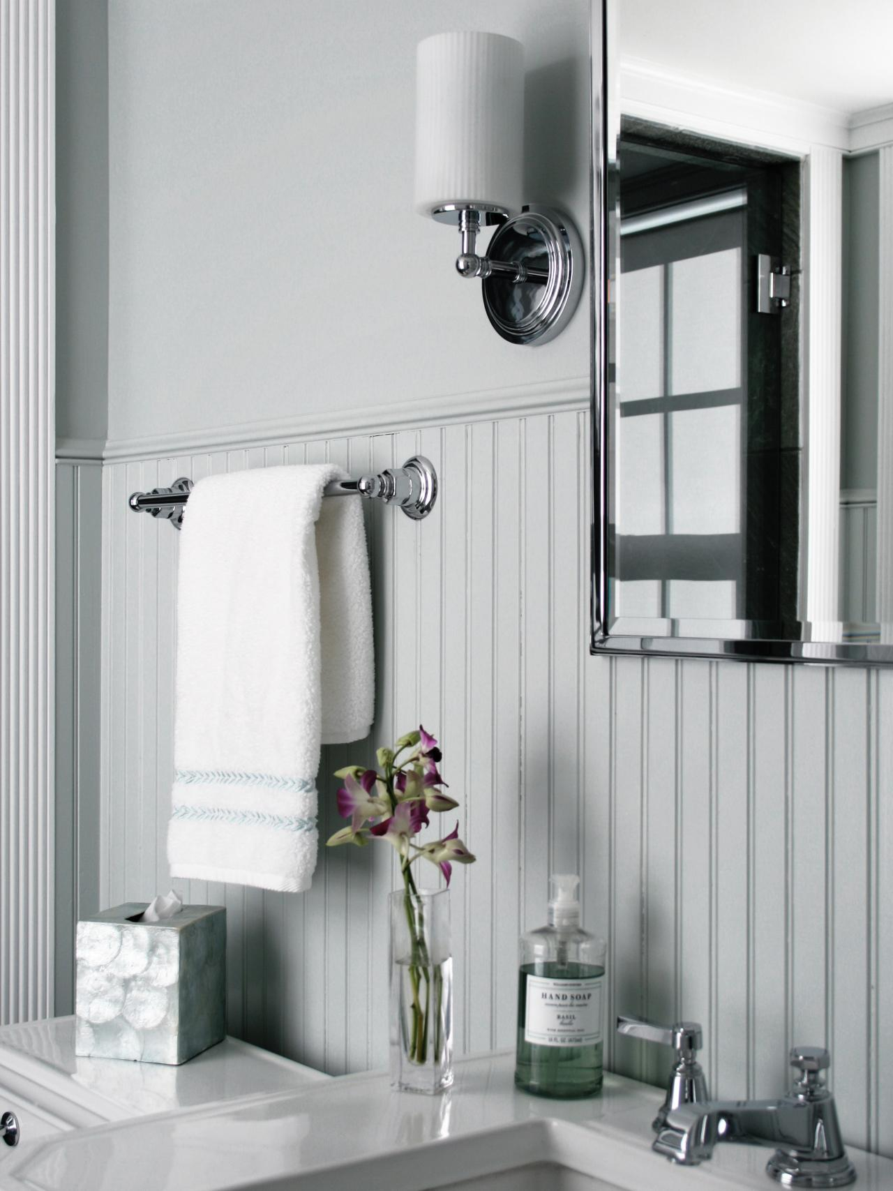 Fancy Beadboard Bathroom Designs: Pictures & Ideas From Hgtv | Hgtv for Bathrooms With Beadboard