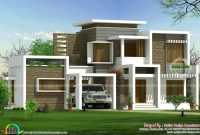 Fancy Beautiful Box Type Contemporary Home – Kerala Home Design And Floor within Kerala House Design With Floor Plans