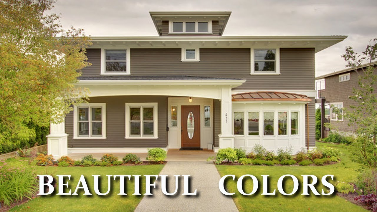 Fancy Beautiful Colors For Exterior House Paint Choosing