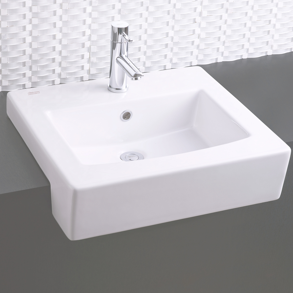 Fancy Boxe Semi-Countertop Bathroom Sink - American Standard throughout Bathroom Sinks And Countertops