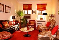 Fancy Brown Living Room Decorating Ideas Elegant Accessories Terrific regarding Burnt Orange Living Room