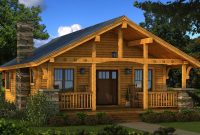 Fancy Bungalow 2: Log Cabin Kit – Plans & Information | Southland Log for Bungalow Homes
