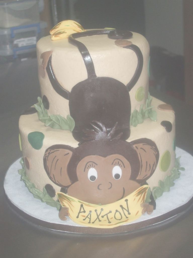 Fancy Cakespaula: Baby Shower Monkey Cake for Baby Shower Monkey Cakes
