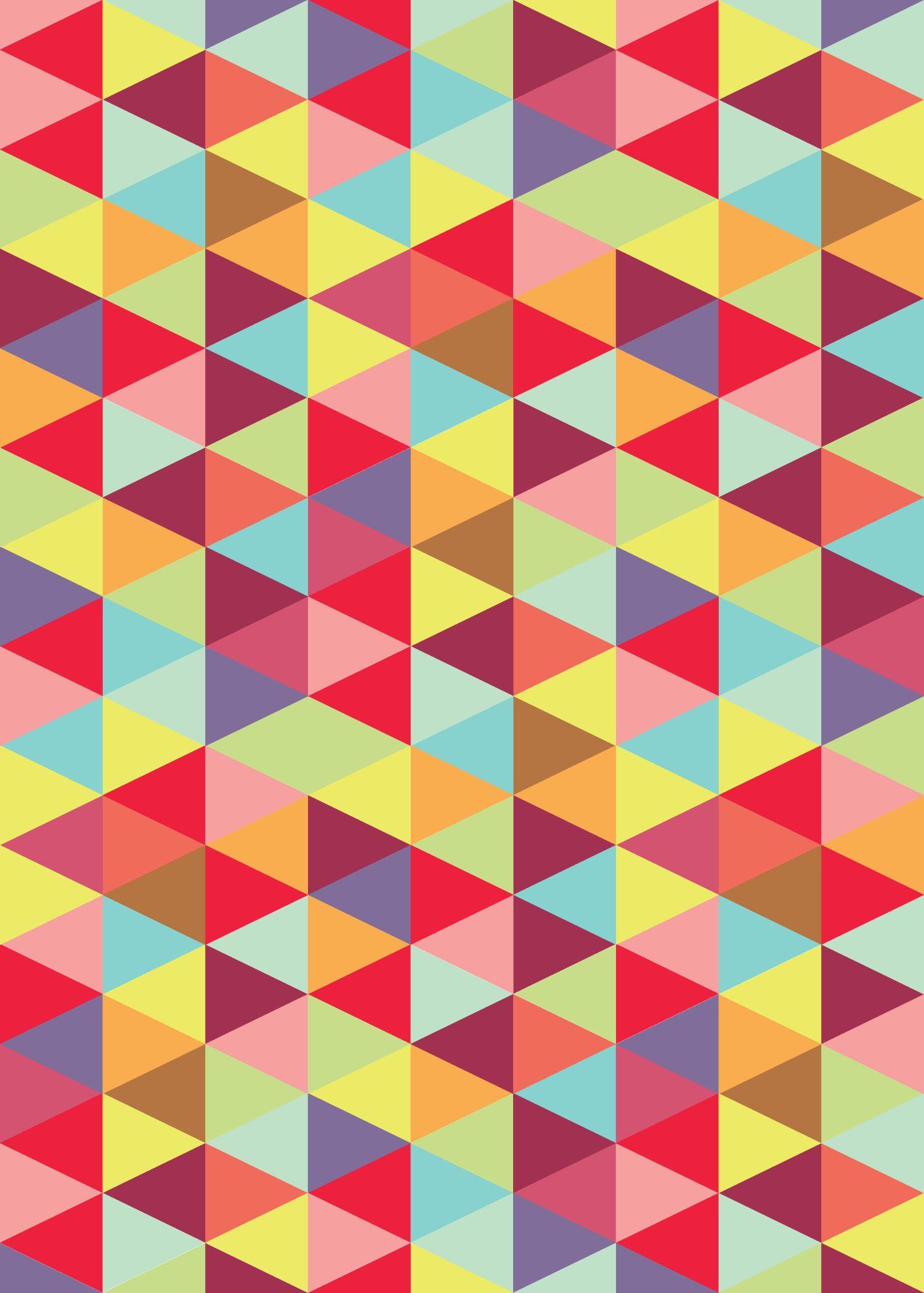 Fancy Colorful Triangle Pattern. | Patterned | Pinterest | Triangles with Color Pattern Design