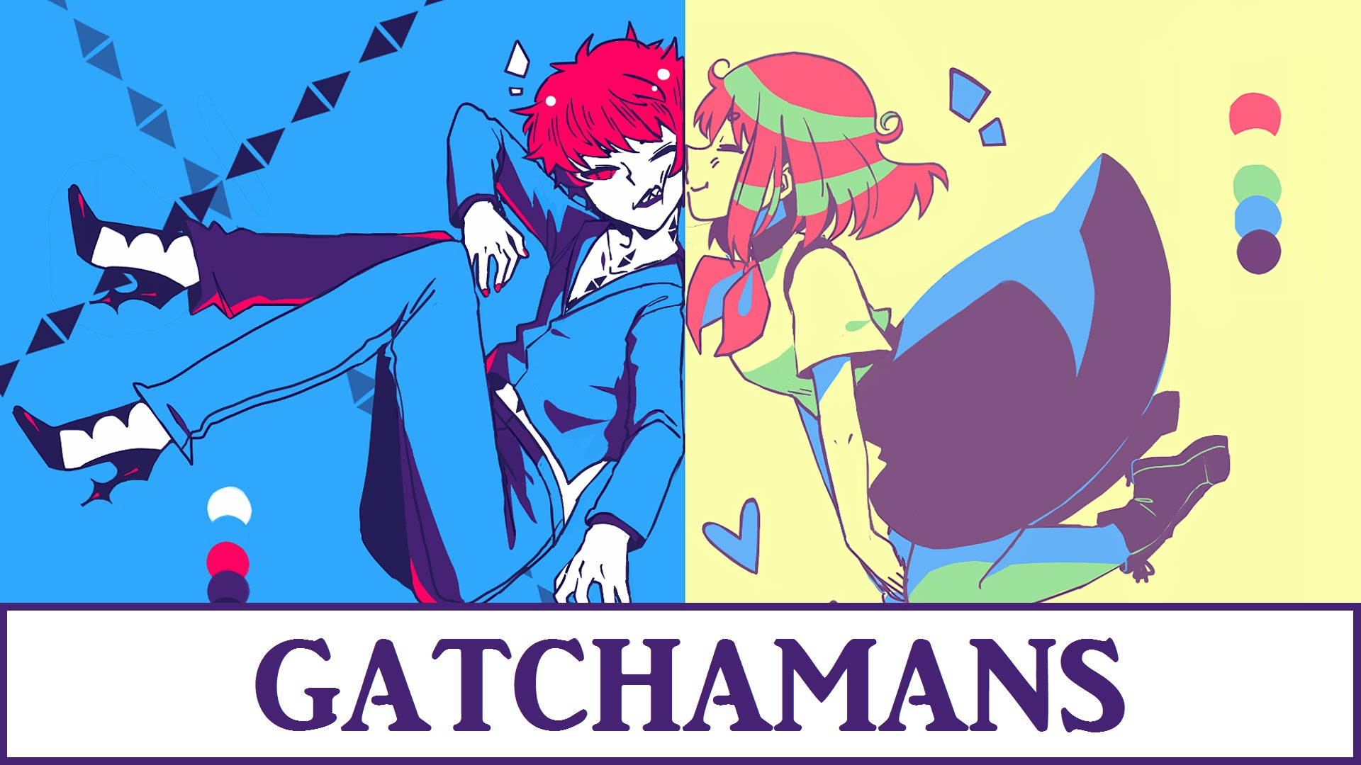 Fancy Colour Palette Meme | Gatchaman Crowds - Speedpaint - Youtube throughout Awesome Color Palette Meme