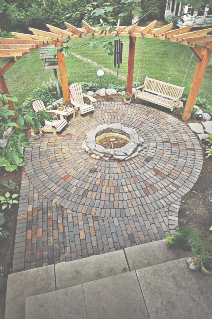 Fancy Country Cottage Backyard Inspiration | Brooklyn Limestone with regard to Country Backyard