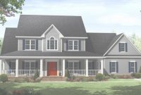 Fancy Craftsman Style Home Plans With Porch Luxury Country Home Floor pertaining to Awesome Country Homes With Wrap Around Porch