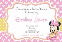 Fancy Create Baby Minnie Mouse Baby Shower Invitations Unique – Wallpaper for Review Minnie Mouse Baby Shower Invitations