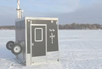 Fancy Custom Cottages Introduces New Ice Fishing & Deer Hunting Shelters inside Best of Folding Ice Shanty Plans