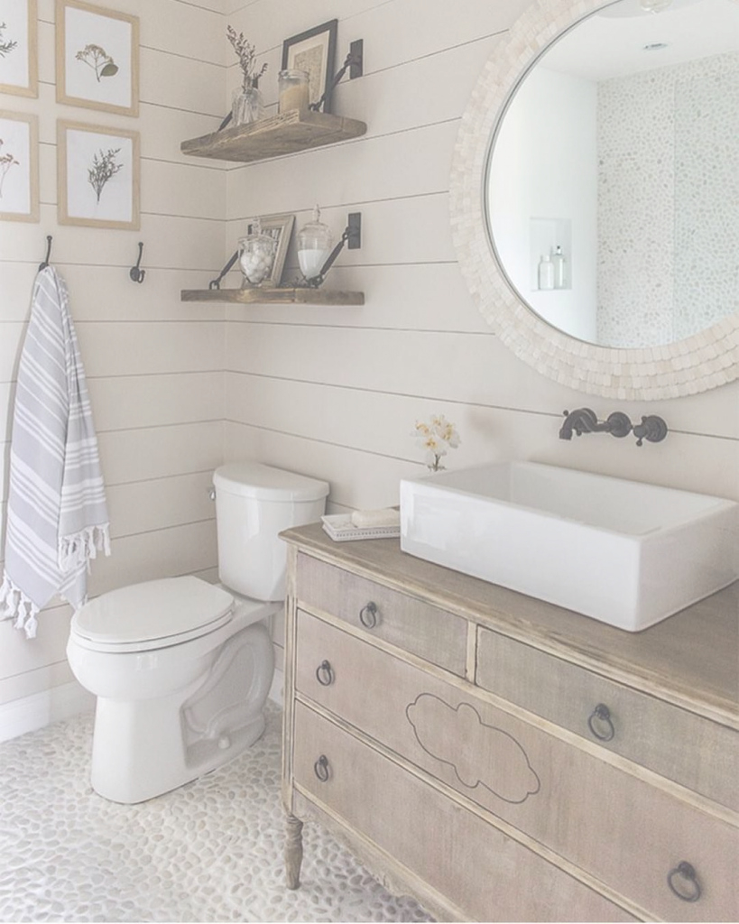 Fancy √ 14+ Tips For Incorporating Shiplap Into Your Home | Pinterest in Bathrooms With Shiplap