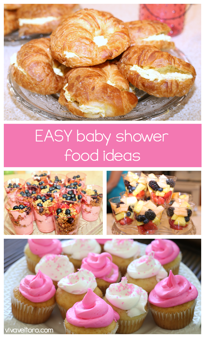 Fancy Easy Baby Shower Food Ideas! These Crowd Pleasing Favorites Will Be intended for Baby Girl Shower Food Ideas