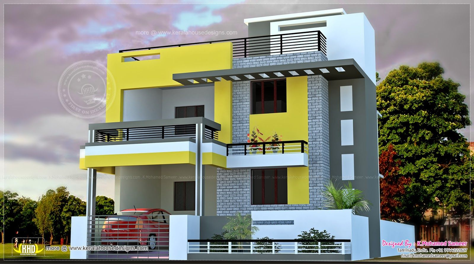 Fancy Elevations Of Residential Buildings In Indian Photo Gallery - Google in Indian Home Elevation Design Photo Gallery