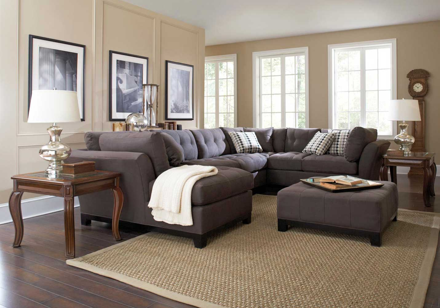 Fancy Ethan Allen pertaining to Set Ethan Allen Living Room