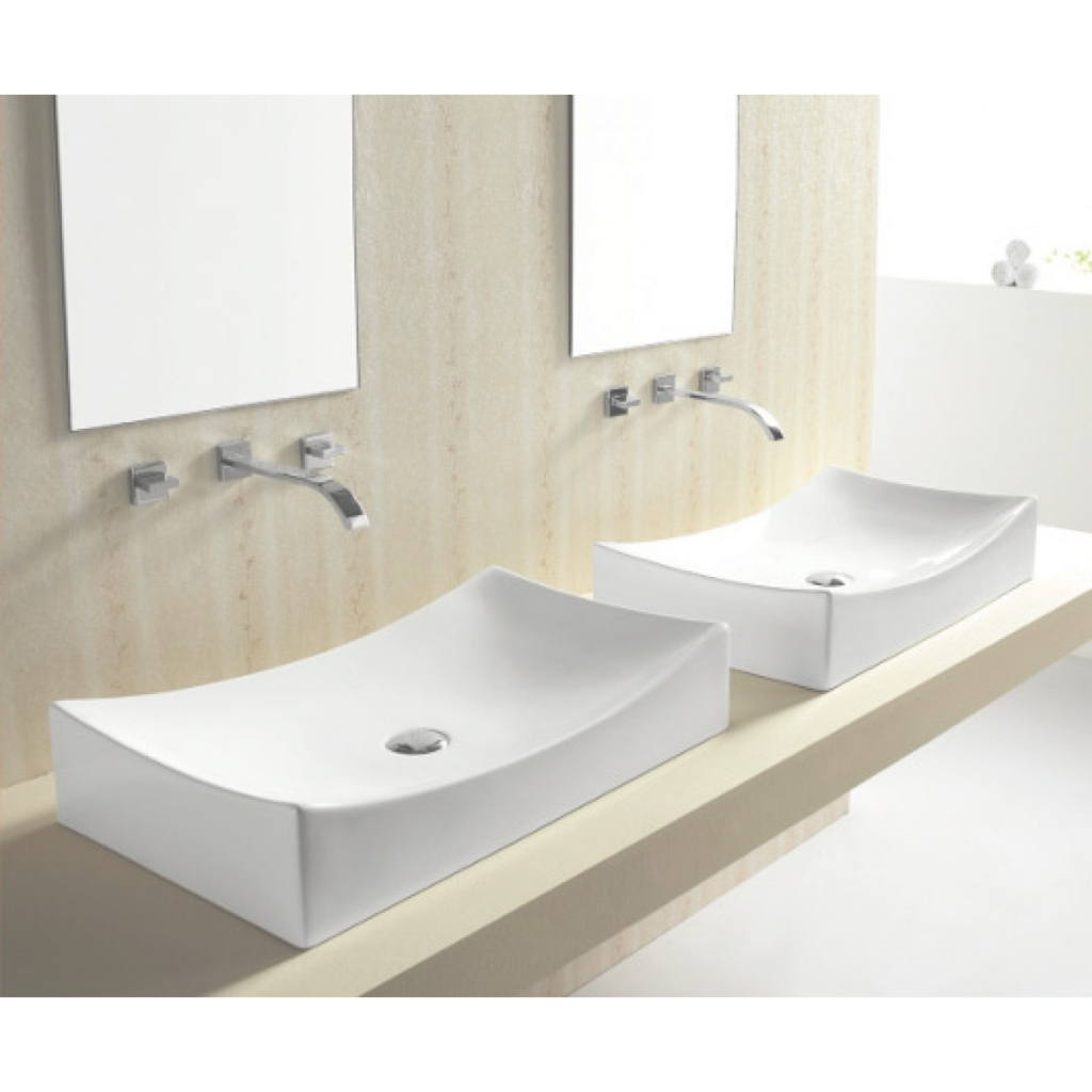 Fancy European Style Porcelain Ceramic Countertop Bathroom Vessel Sink inside New Bathroom Vessel Sinks