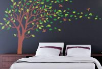 Fancy Extra Large Tree Wall Art Mural Decal Sticker Living Room Bedroom within Unique Tree Wall Decals For Living Room