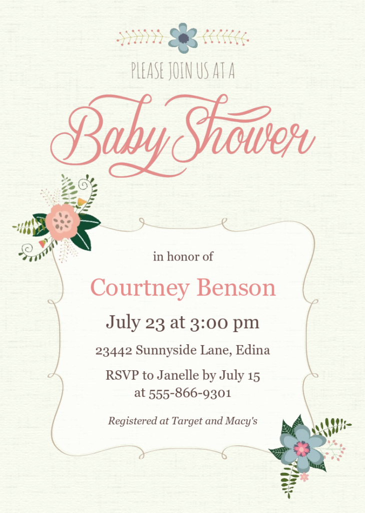 Fancy Focus In Pix Baby Announcements And Baby Shower Invitations with High Quality Baby Shower Cards