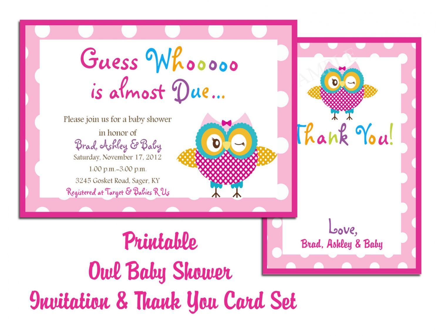 Fancy Free Printable Baby Shower Invitation Cards Amazing Online Baby pertaining to Set Printable Baby Shower Cards