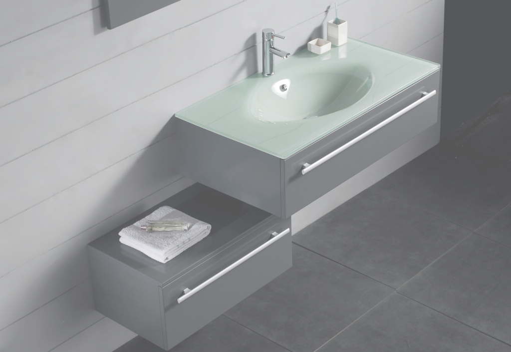 Fancy Functional Bathroom Vanity With Sink regarding Floating Bathroom Sink