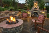 Fancy Gallery Of Backyard Fire Pit Landscaping Ideas Nh Trends Build inside Review Backyard Landscaping Ideas With Fire Pit