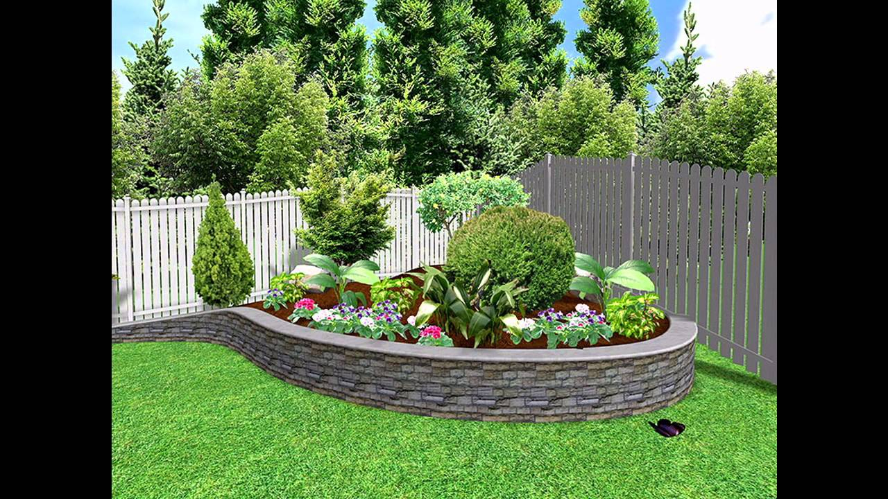 Fancy Garden Ideas] Small Garden Landscape Design Pictures Gallery - Youtube with regard to Landscape Design Garden