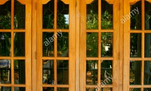Fancy Glass Windows Of A Modern House, Kerala Stock Photo: 8432126 - Alamy intended for Window Designs For Homes Kerala Style