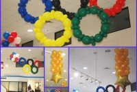 Fancy Go For The Gold With Olympic Themed Balloons! – throughout Fresh Olympic Themed Decorations