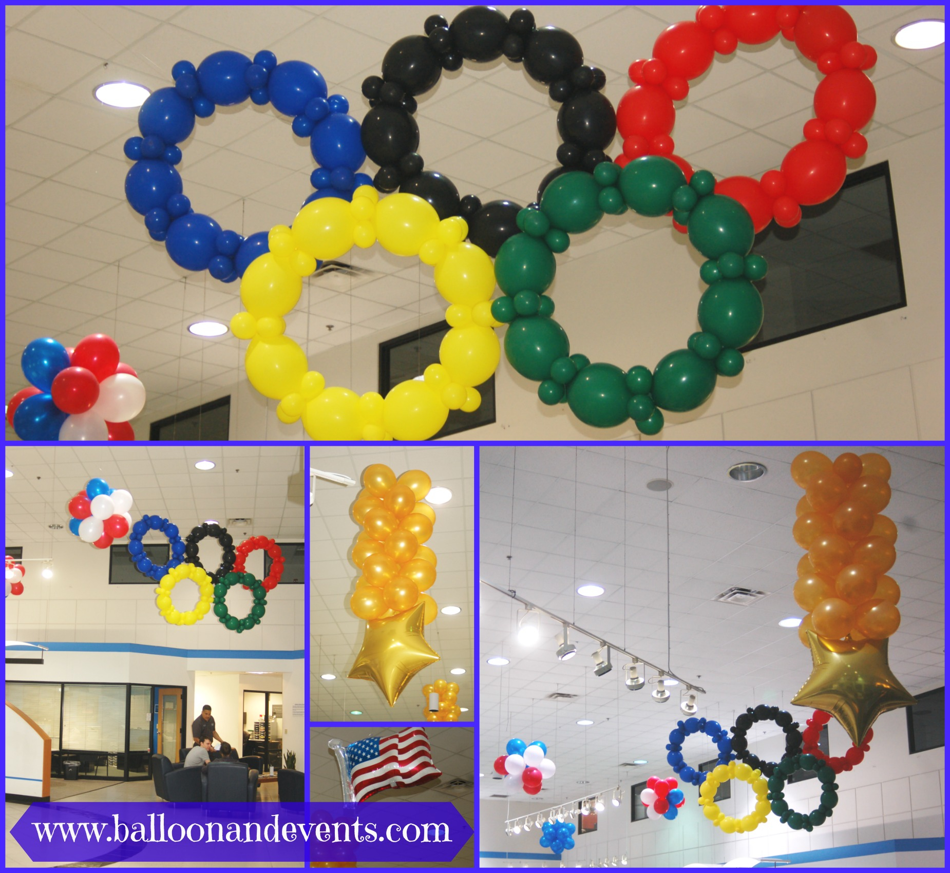 Fancy Go For The Gold With Olympic Themed Balloons! - throughout Fresh Olympic Themed Decorations