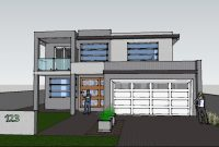 Fancy Google Sketchup House Plans Download Best Of Modern House Sketchup with regard to Google Sketchup House Plans Download Image