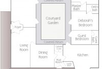 Fancy Hacienda House Plans With Center Courtyard | Shed Plans | Pinterest throughout Hacienda House Plans Center Courtyard Image