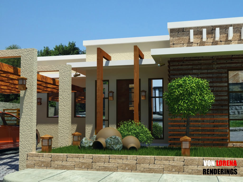 Fancy Home Architecture: Bungalow House Designs Floor Plans Philippines in Unique House Design With Floor Plan Philippines