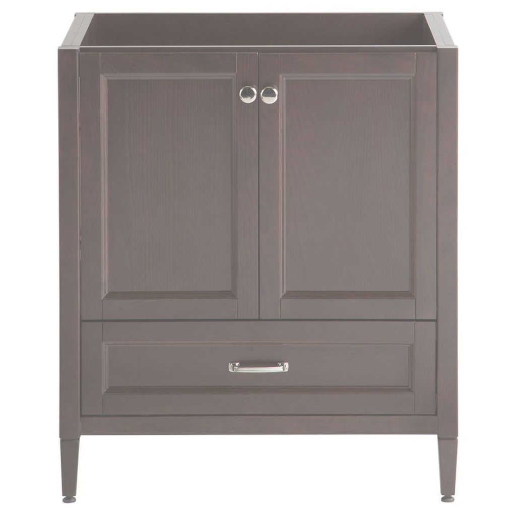 Fancy Home Decorators Collection Claxby 30 In. W Bath Vanity Cabinet Only throughout Unique Home Depot Bathroom Vanities And Cabinets