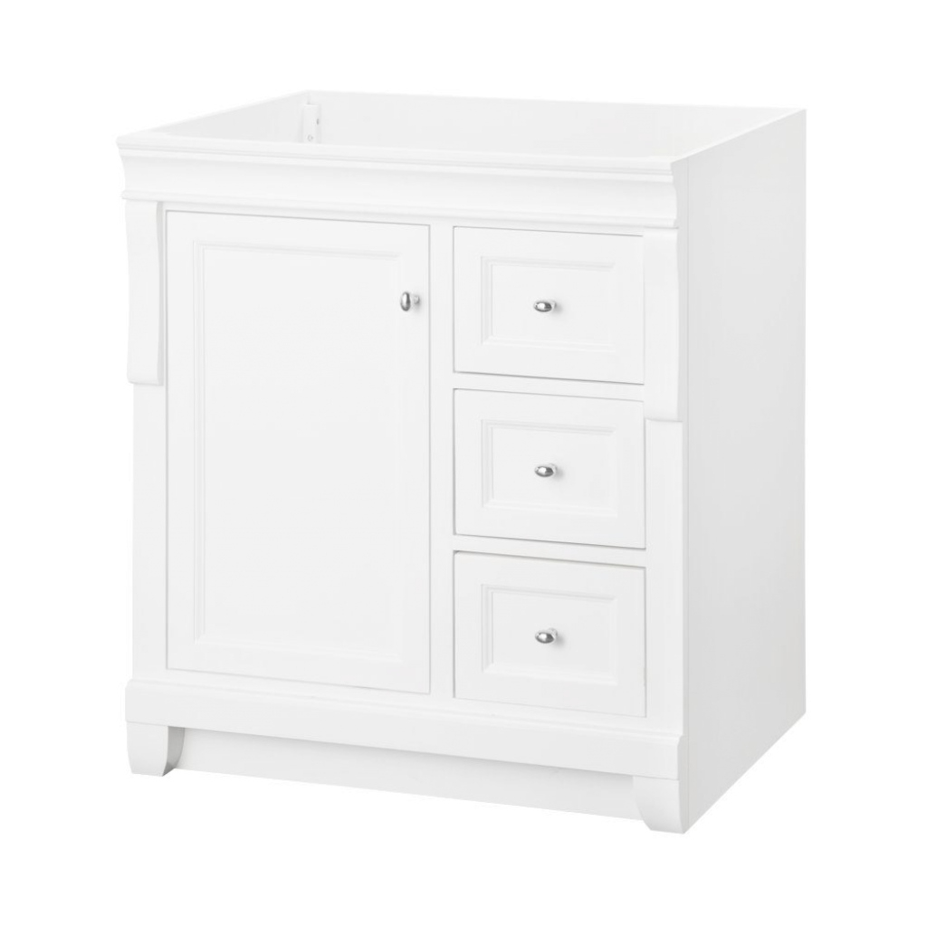 Fancy Home Decorators Collection Naples 30 In. W X 21.63 In. D Vanity throughout Home Depot Bathroom Vanities And Cabinets