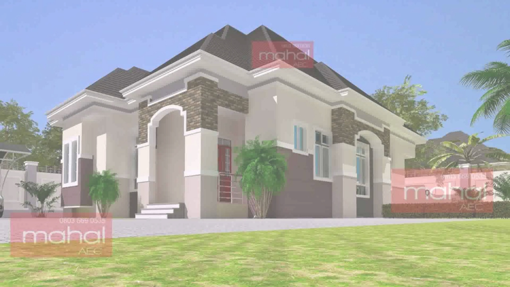 Fancy House Design Pictures In Nigeria - Youtube inside Nigerian House Plans With Photos
