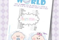 Fancy Ideas Baby Shower Games | Omega-Center – Ideas For Baby throughout Beautiful How Do You Say Baby Shower In Spanish