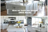 Fancy Ikea Hack {How We Built Our Kitchen Island} – Jeanne Oliver for Lovely Ikea Hack Kitchen Island