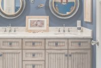 Fancy Impressive Nautical Bathroom Mirrors For Capitan-Wannabe Room Themes pertaining to Nautical Mirror Bathroom