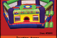 Fancy Inflatable Jousting – Backyard Inflatables in Backyard Inflatables