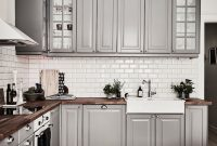 Fancy Inspiring Kitchens You Won't Believe Are Ikea | Pinterest | Gray with Fresh Grey And White Kitchen Cabinets