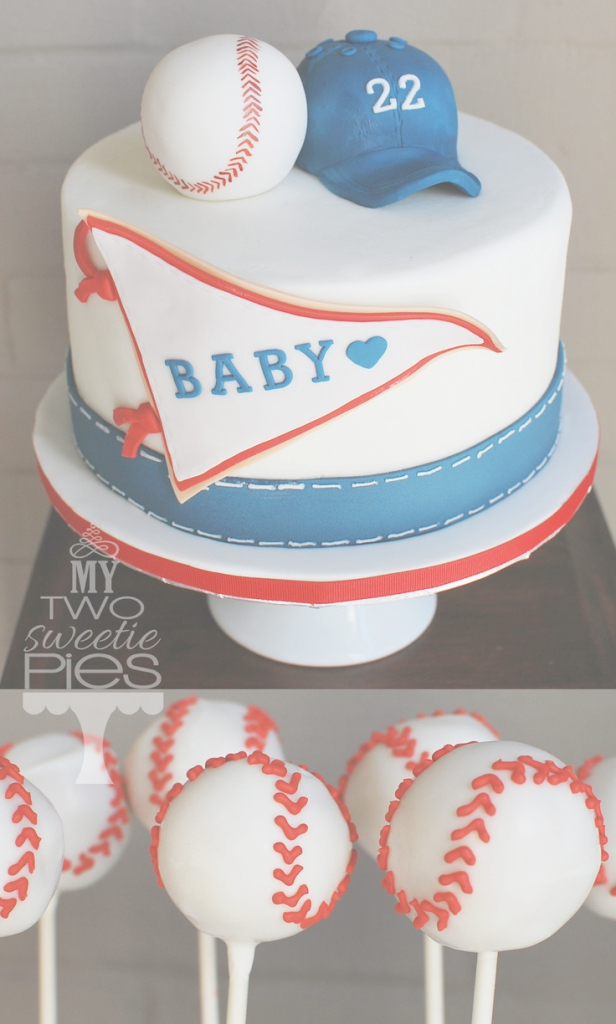 Fancy Interesting Decoration Baseball Baby Shower Cake Buttercream throughout Fresh Baseball Baby Shower Cakes
