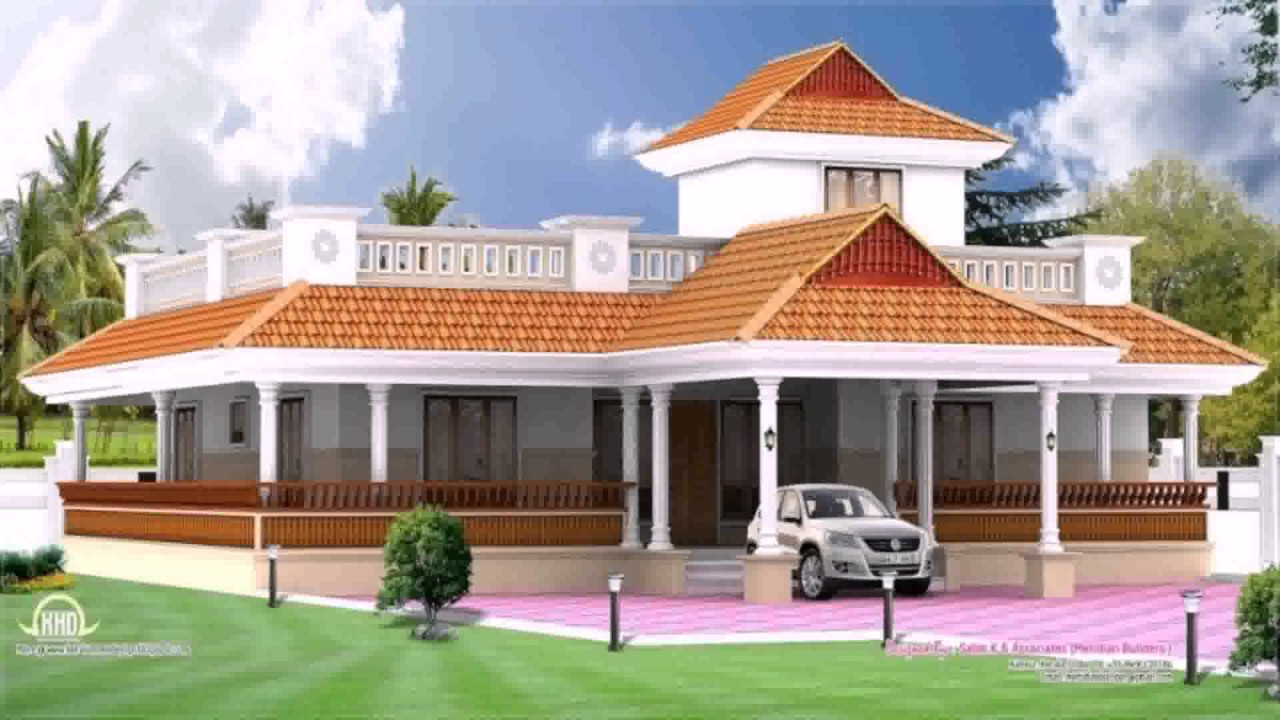 Fancy Kerala Style Traditional House Plans - Youtube pertaining to Kerala Traditional House Plans With Photos