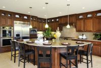 Fancy Kitchen Island Design Ideas: Pictures, Options & Tips | Pinterest with regard to Beautiful Kitchen Layouts With Island