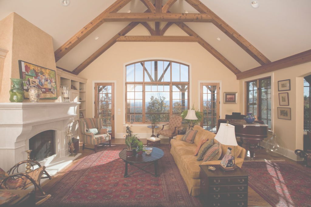 Fancy Lighting : Vaulted Ceiling Room Decorating Ideas Cathedral Living within Lovely Vaulted Ceiling Living Room