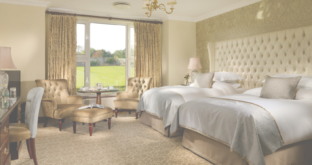 Fancy Luxury 5 * Hotel Accommodation Galway | Glenlo Abbey Hotel pertaining to Best of Hotel Bedrooms